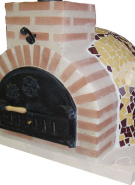 Horno montado mosaico